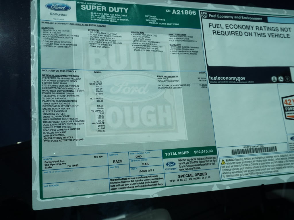 2019 F-350 Regular Cab 4x4, Duramag S Series Service Body #10299T - photo 4