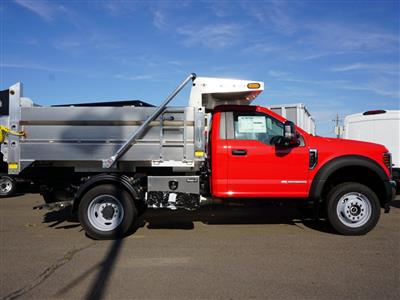2019 F-550 Regular Cab DRW 4x4, Duramag Dump Body #10300T - photo 3