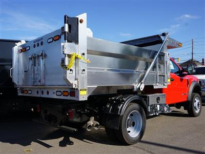 2019 F-550 Regular Cab DRW 4x4, Duramag Dump Body #10300T - photo 2