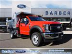 2019 F-550 Regular Cab DRW 4x4, Duramag Dump Body #10300T - photo 1
