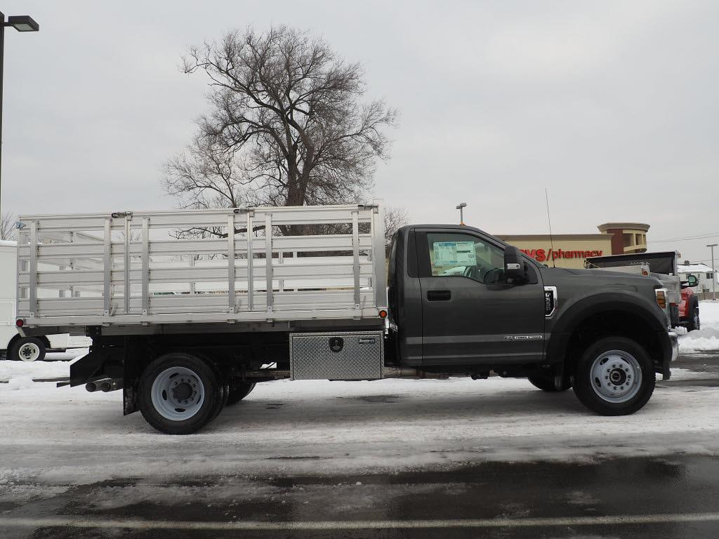 2019 Ford F-550 Regular Cab DRW 4x4, Duramag Platform Body #10301T - photo 3