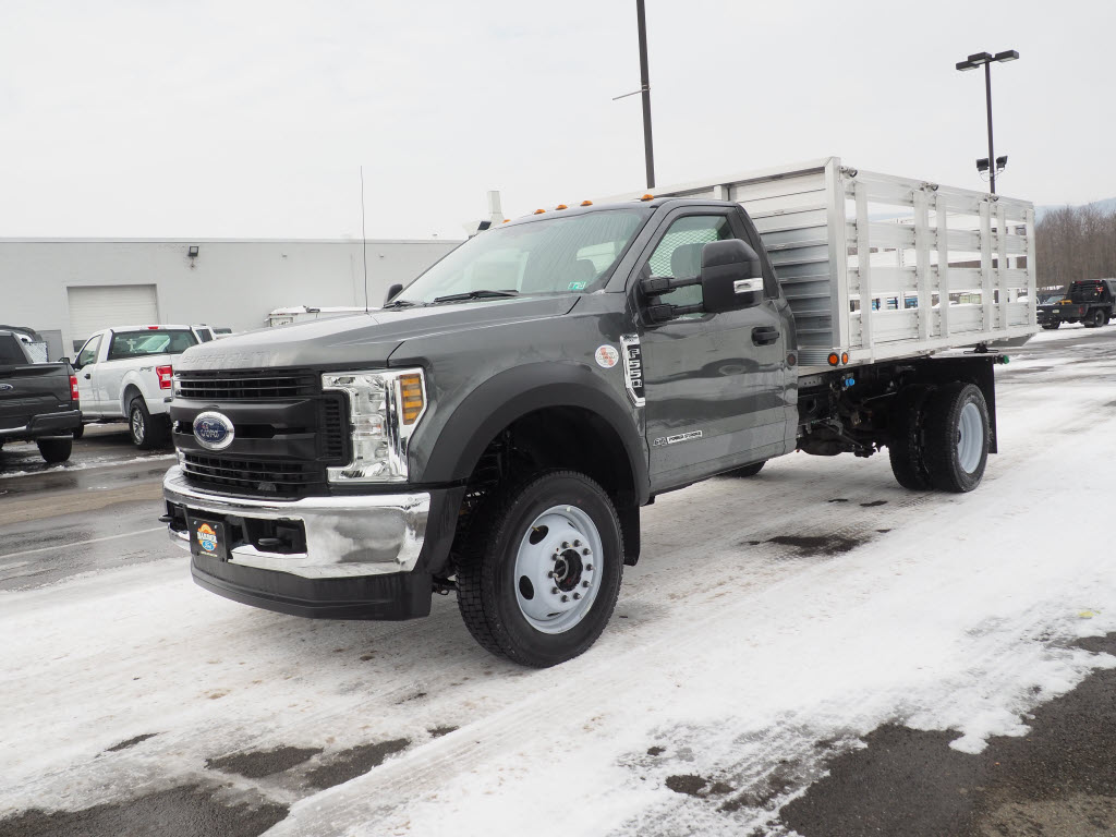 2019 Ford F-550 Regular Cab DRW 4x4, Duramag Platform Body #10301T - photo 8