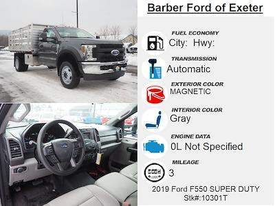 2019 Ford F-550 Regular Cab DRW 4x4, Duramag Platform Body #10301T - photo 4