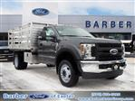 2019 Ford F-550 Regular Cab DRW 4x4, Duramag Platform Body #10301T - photo 1