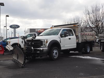 2019 Ford F-550 Super Cab DRW 4x4, Duramag Dump Body #10304T - photo 4