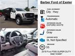 2019 Ford F-550 Regular Cab DRW 4x4, Knapheide Value-Master X Stake Bed #10308T - photo 4