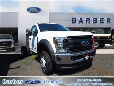 2019 F-550 Regular Cab DRW 4x4, Cab Chassis #10309T - photo 1