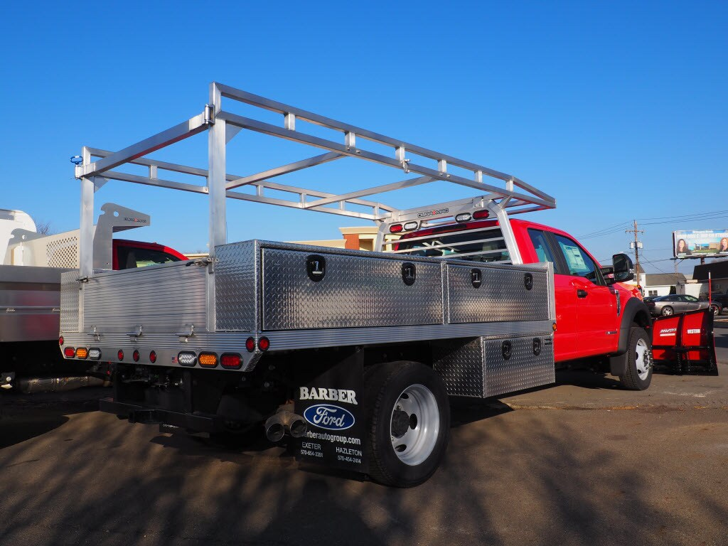 2019 F-550 Super Cab DRW 4x4, Duramag Platform Body #10310T - photo 2