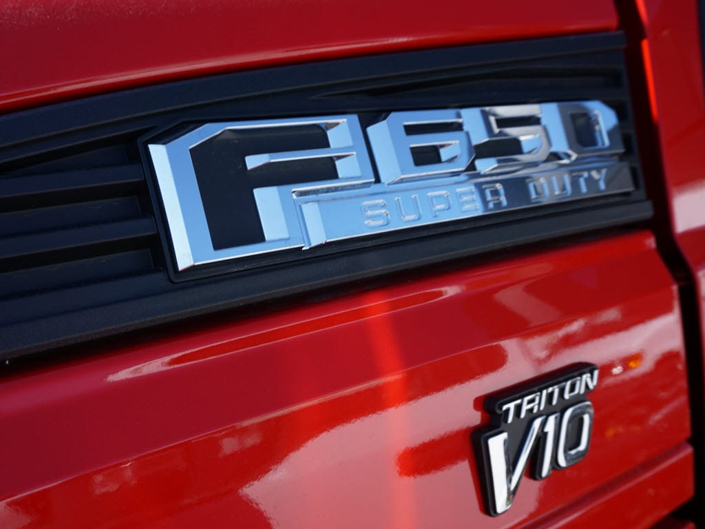 2019 Ford F-650 Regular Cab DRW 4x2, Switch N Go Drop Box Hooklift Body #10329T - photo 9