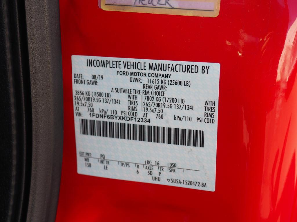 2019 Ford F-650 Regular Cab DRW 4x2, Switch N Go Drop Box Hooklift Body #10329T - photo 27