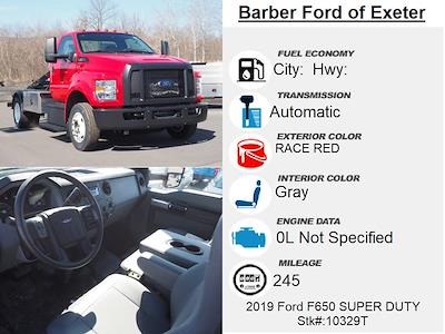 2019 Ford F-650 Regular Cab DRW 4x2, Switch N Go Drop Box Hooklift Body #10329T - photo 5