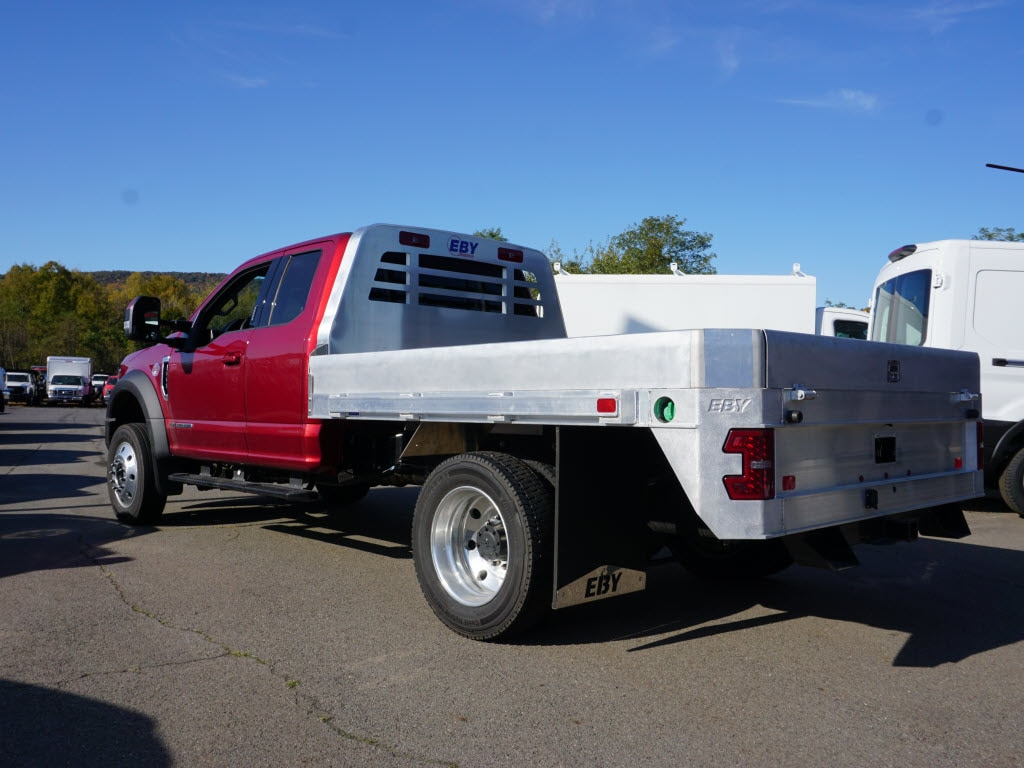 2019 F-550 Super Cab DRW 4x4, M H EBY Platform Body #10342T - photo 2