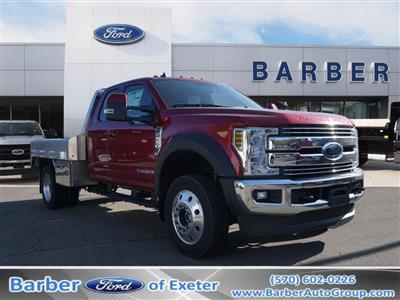 2019 F-550 Super Cab DRW 4x4, M H EBY Platform Body #10342T - photo 1
