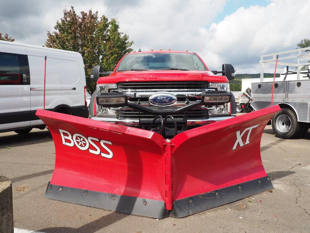 2019 Ford F-550 Regular Cab DRW 4x4, M H EBY Platform Body #10344T - photo 1