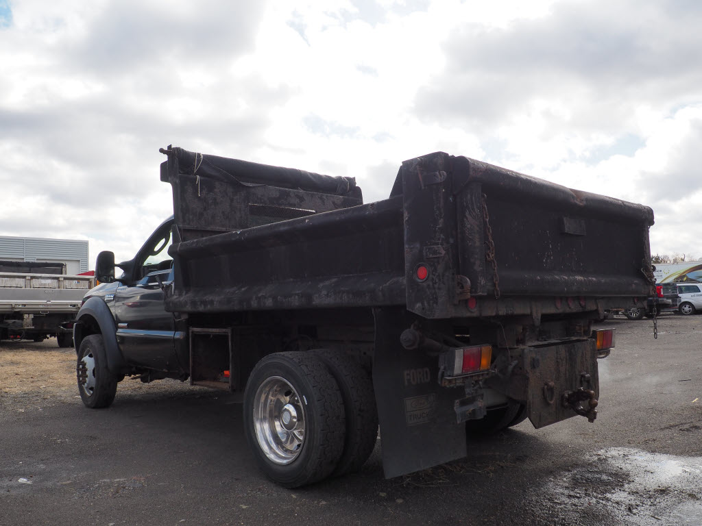 2006 F-550 Regular Cab DRW 4x4, Dump Body #10377B - photo 1