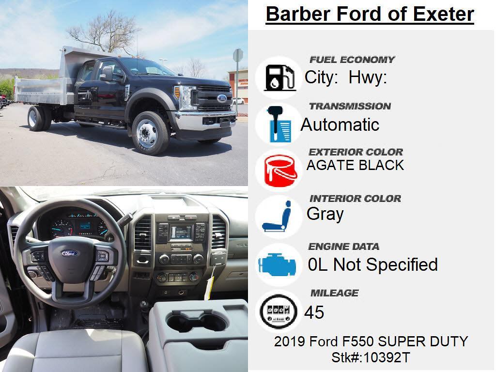2019 Ford F-550 Super Cab DRW 4x4, Duramag Dump Body #10392T - photo 15