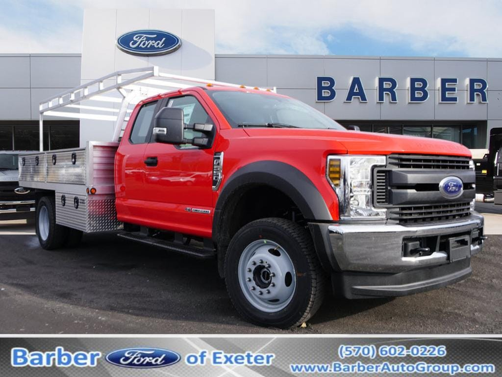2019 F-550 Super Cab DRW 4x4, Duramag Platform Body #10430T - photo 1