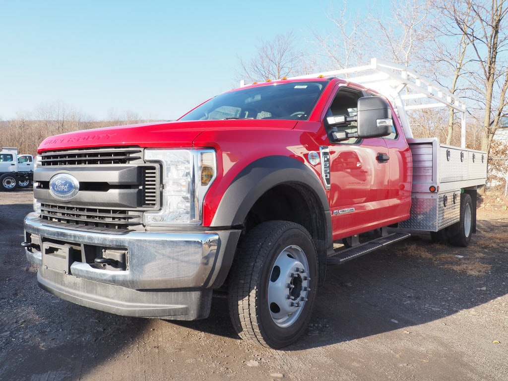2019 F-550 Super Cab DRW 4x4, Duramag Platform Body #10435T - photo 4