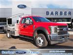 2019 F-550 Super Cab DRW 4x4, Duramag Platform Body #10435T - photo 1