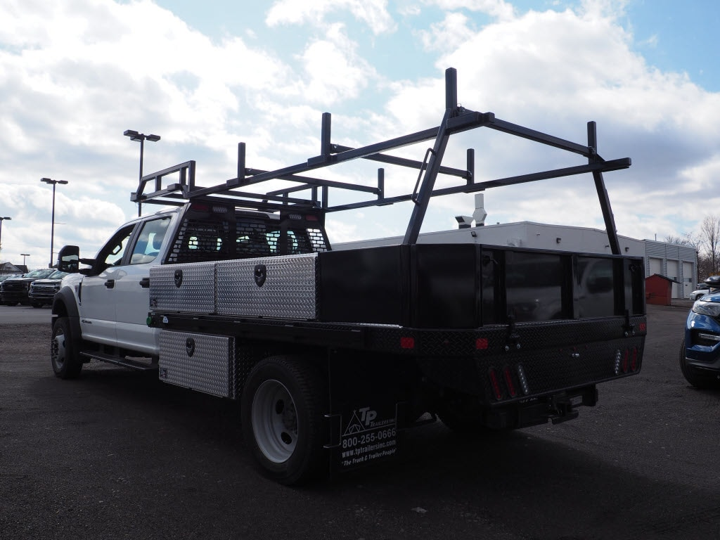 2019 Ford F-550 Crew Cab DRW 4x4, SH Truck Bodies Platform Body #10442T - photo 6