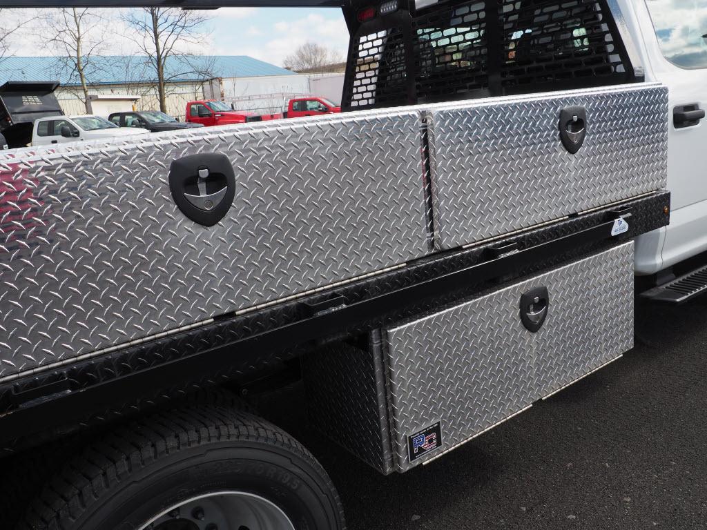 2019 Ford F-550 Crew Cab DRW 4x4, SH Truck Bodies Platform Body #10442T - photo 3