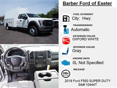 2019 Ford F-550 Super Cab DRW 4x4, Knapheide KUVcc Service Body #10444T - photo 16