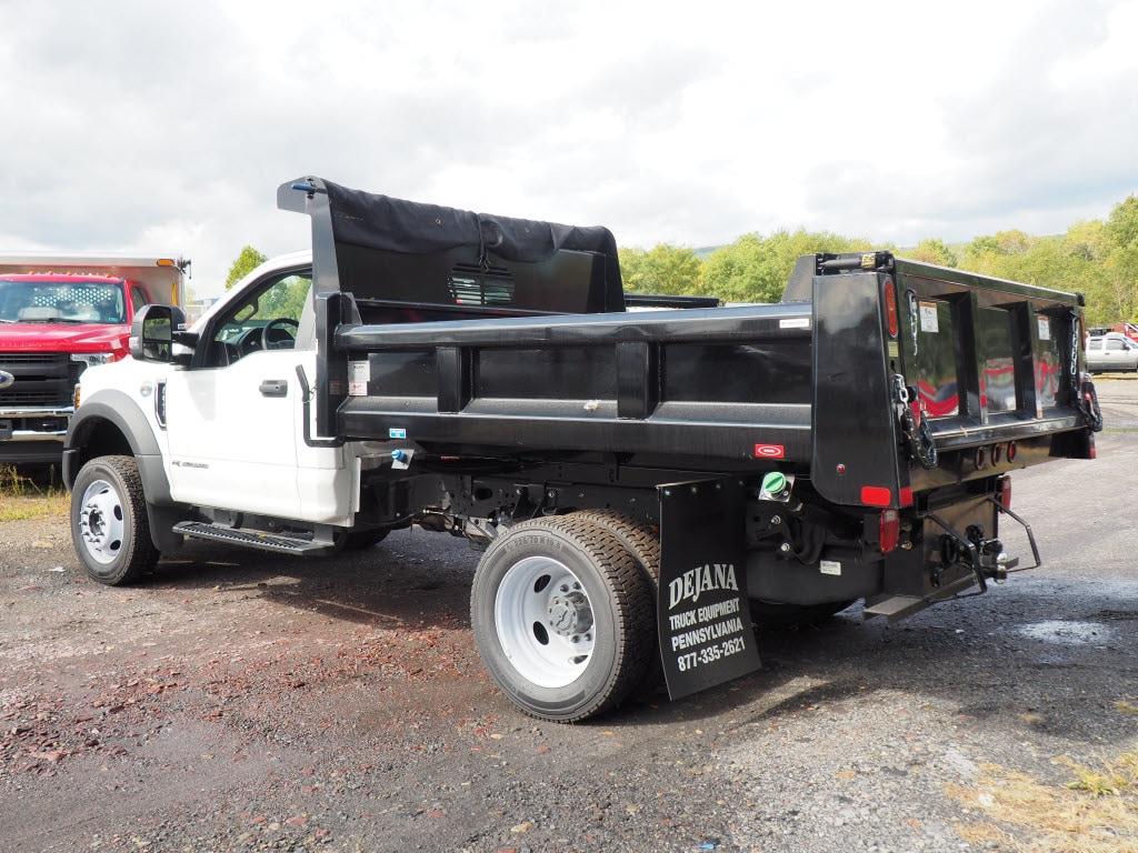 2019 Ford F-450 Regular Cab DRW 4x4, Rugby Eliminator LP Steel Dump Body #10446T - photo 6