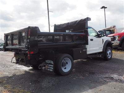 2019 Ford F-450 Regular Cab DRW 4x4, Rugby Eliminator LP Steel Dump Body #10446T - photo 2