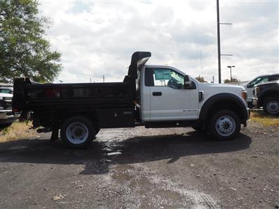2019 Ford F-450 Regular Cab DRW 4x4, Rugby Eliminator LP Steel Dump Body #10446T - photo 3