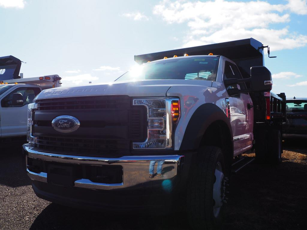 2019 Ford F-550 Regular Cab DRW 4x4, Rugby Eliminator LP Steel Dump Body #10447T - photo 5