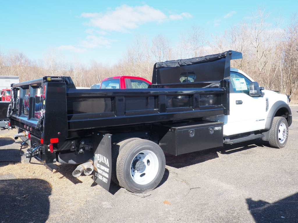 2019 Ford F-550 Regular Cab DRW 4x4, Rugby Eliminator LP Steel Dump Body #10447T - photo 2
