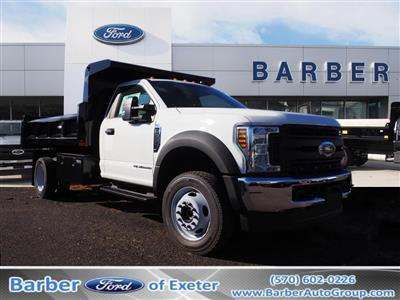 2019 Ford F-550 Regular Cab DRW 4x4, Rugby Eliminator LP Steel Dump Body #10447T - photo 1