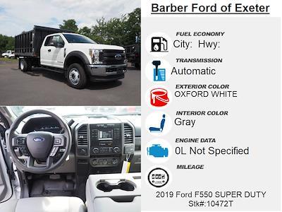 2019 Ford F-550 Super Cab DRW 4x4, Duramag Aluminum Landscape Dump #10472T - photo 4