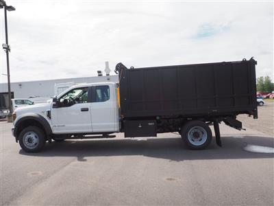 2019 Ford F-550 Super Cab DRW 4x4, Duramag Aluminum Landscape Dump #10472T - photo 7