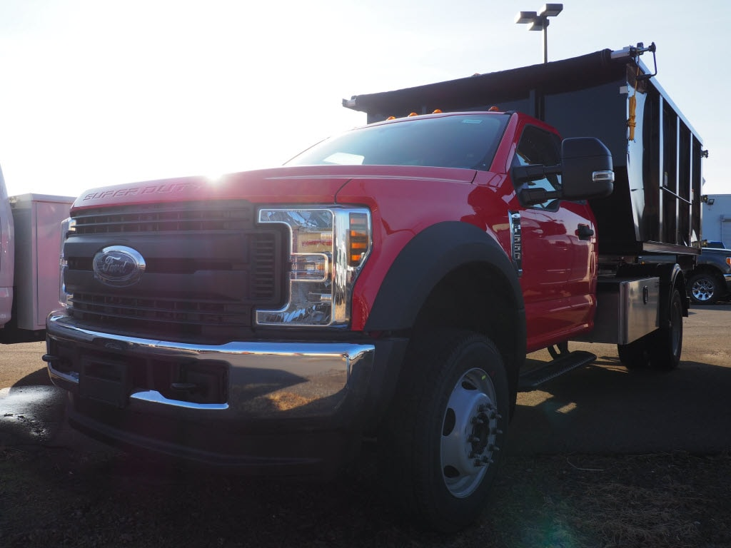 2019 F-550 Regular Cab DRW 4x4, Switch N Go Drop Box Hooklift Body #10480T - photo 4