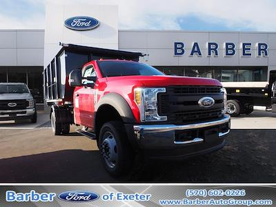 2019 F-550 Regular Cab DRW 4x4, Switch N Go Drop Box Hooklift Body #10480T - photo 1