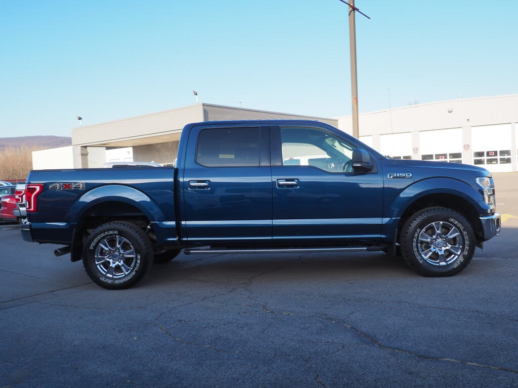 2015 F-150 SuperCrew Cab 4x4, Pickup #10495A - photo 4