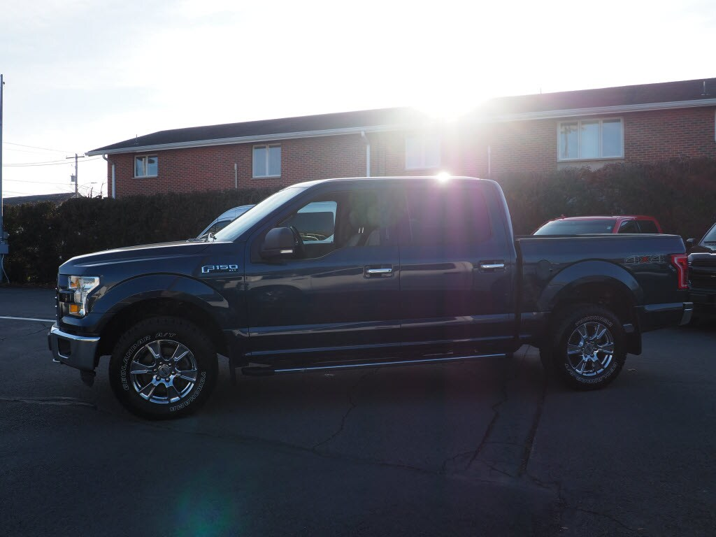 2015 F-150 SuperCrew Cab 4x4, Pickup #10495A - photo 7