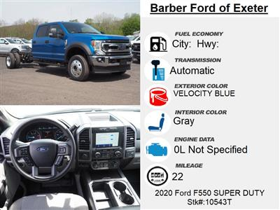 2020 Ford F-550 Crew Cab DRW 4x4, Cab Chassis #10543T - photo 16