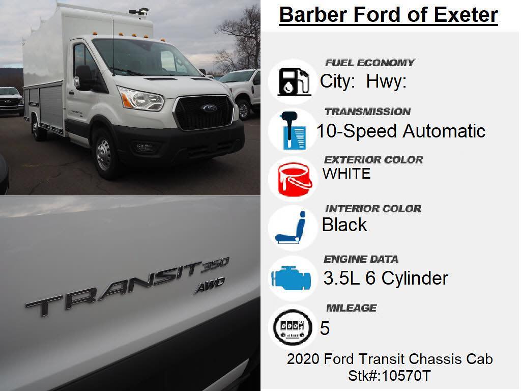 2020 Transit 350 AWD,  Service Body #10570T - photo 4
