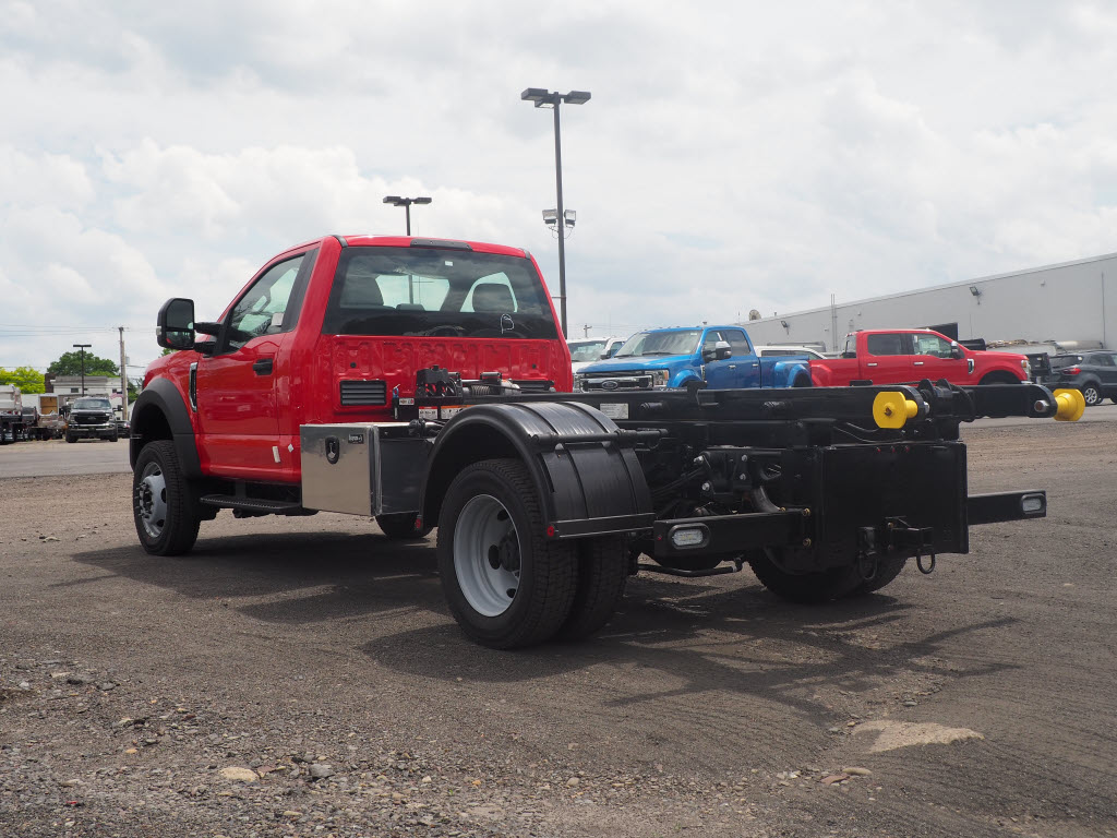 2019 Ford F-550 Regular Cab DRW 4x4, Switch N Go Hooklift Body #10579T - photo 4