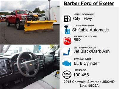 2015 Chevrolet Silverado 3500 Regular Cab 4x4, Pickup #10626A - photo 3