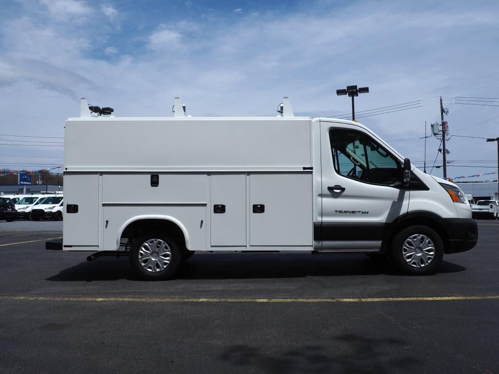 2020 Ford Transit 350 AWD, Reading Aluminum CSV Service Utility Van #10660T - photo 4