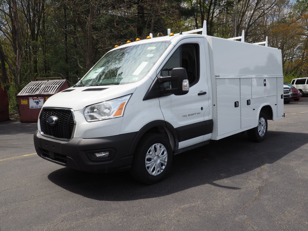2020 Ford Transit 350 AWD, Reading Aluminum CSV Service Utility Van #10660T - photo 8