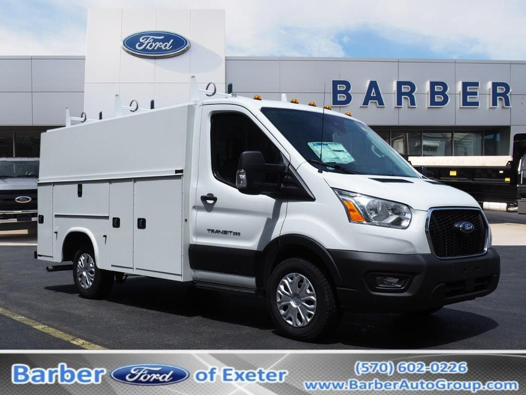 2020 Ford Transit 350 AWD, Reading Service Utility Van #10660T - photo 1