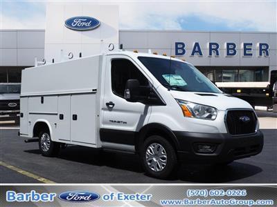 2020 Ford Transit 350 AWD, Reading Aluminum CSV Service Utility Van #10660T - photo 1