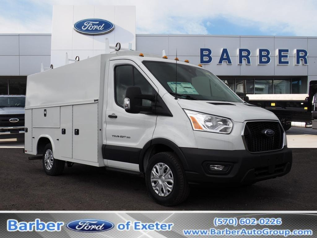 2020 Ford Transit 350 4x2, Knapheide Service Utility Van #10671T - photo 1
