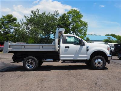 2020 Ford F-350 Regular Cab DRW 4x4, Rugby Eliminator LP Stainless Steel Dump Body #10685T - photo 3