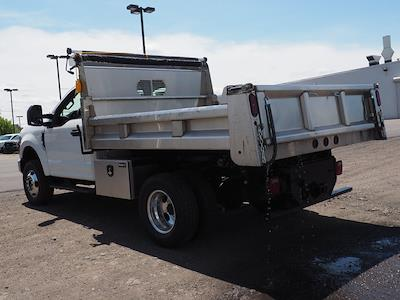 2020 Ford F-350 Regular Cab DRW 4x4, Rugby Eliminator LP Stainless Steel Dump Body #10685T - photo 5