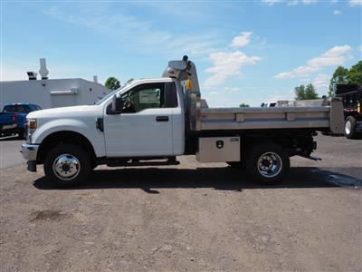 2020 Ford F-350 Regular Cab DRW 4x4, Rugby Eliminator LP Stainless Steel Dump Body #10685T - photo 6